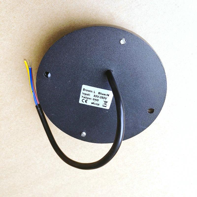 IP68 مقاوم للماء 8 واط LED إضاءة تحت الأرض في الهواء الطلق حديقة الأرض مسار الطابق دفن ساحة بقعة المشهد 110 فولت 220 فولت 12 فولت
