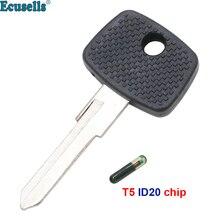 Transpondedor de carcasa de llave fob para Mercedes Actros Atego Axor Sprinter Vito para Benz YM15 cuchilla sin cortar con o sin chip T5