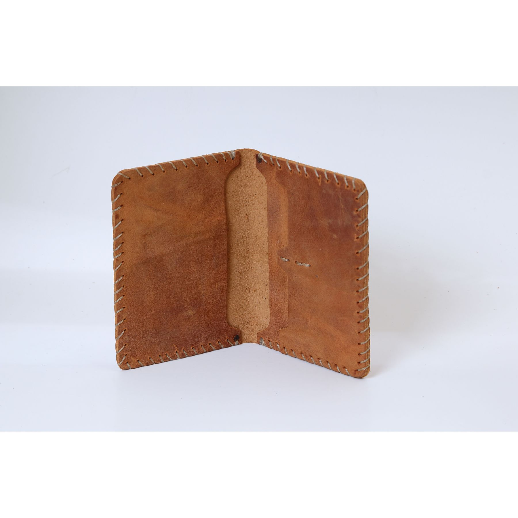 Men's credit card holder wallet bank card Business id card holder leather card organizer Genuine cow leather model 5