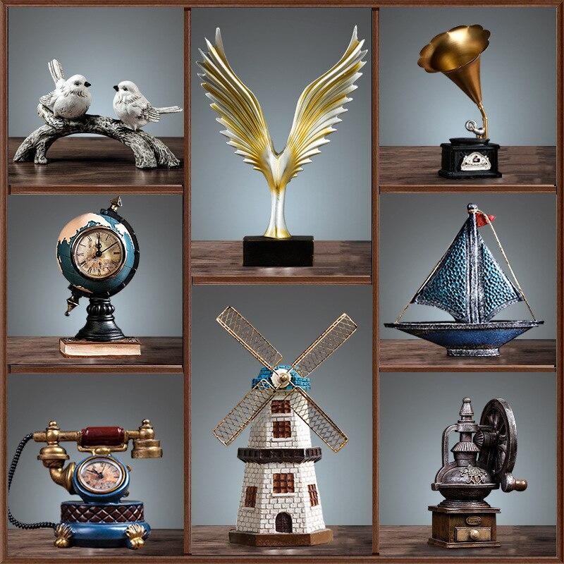 Armário de Vinho Acessórios para Casa Gabinete Vinho Rack Decoração Sala Estar Artesanato Criativo Pequenos Ornamentos tv