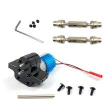 Metal Transfer GearBox  370 Brush Motor For WPL B14 B24 C14 MN90 Q60 RC Car RC Car Accessories RC Pa
