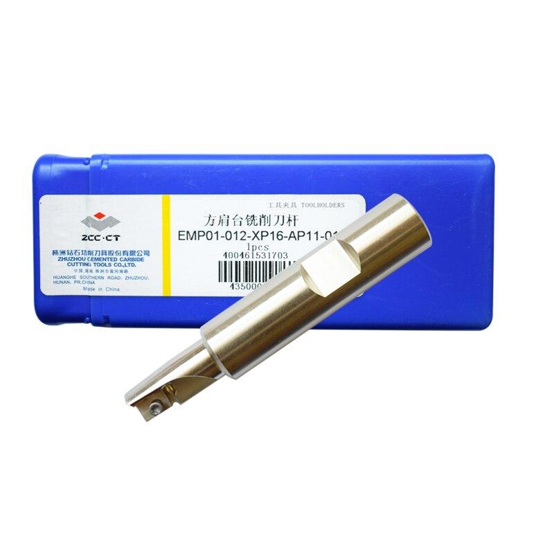 Держатель для фрезерного инструмента ZCC, 1 шт., EMP01-012-XP16-AP11-01, 1 зубчатая мельница, резак для APKT токарного станка