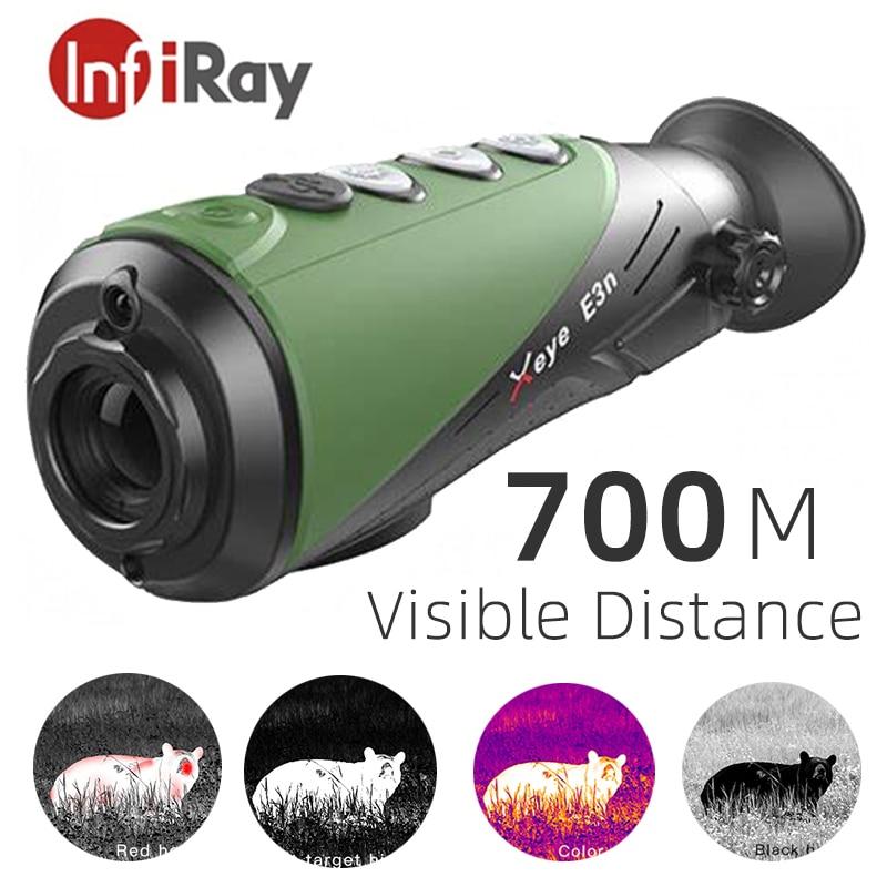 InfiRay – caméra thermique E3n, Vision nocturne, imageur thermique monoculaire pour la chasse, le loup sanglier sauvage, le lapin et l'observation en plein air