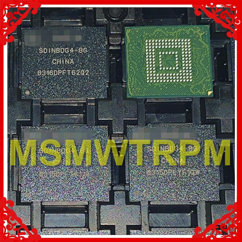 SDINBDG4-8G BGA153Ball EMMC5.1 5,1 8GB móvil memoria nuevo original y de segunda mano bolas soldadas probado OK