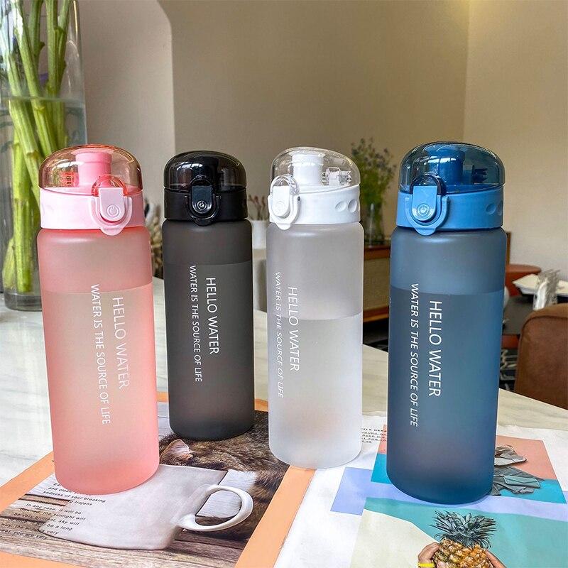 780ML Plastic Portable Water Bottle for Children Adult,Drinking Tea Mug Outdoor Sport Camping Suppli