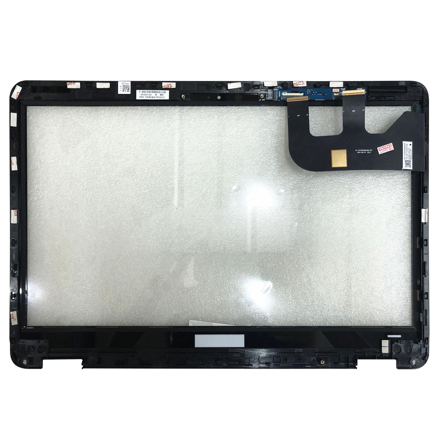 قطع غيار زجاجية تعمل باللمس لأجهزة Asus Zenbook UX360C UX360CA مقاس 13.3 بوصة