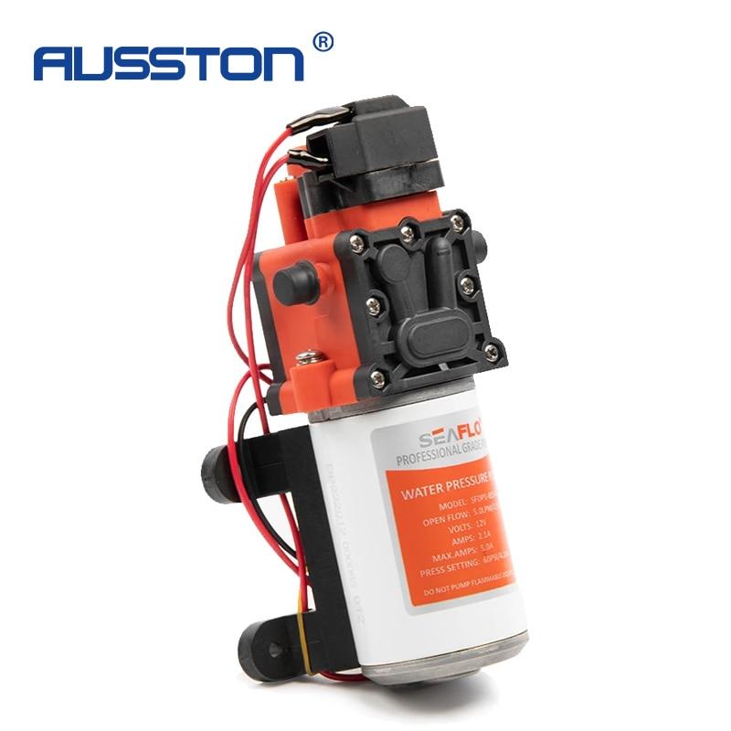 24V Marine Water System Diaphragm Pump 1.3GPM High Pressure Self Priming-pump Shower Toilet Water Transfer Motor for RV Boat enlarge