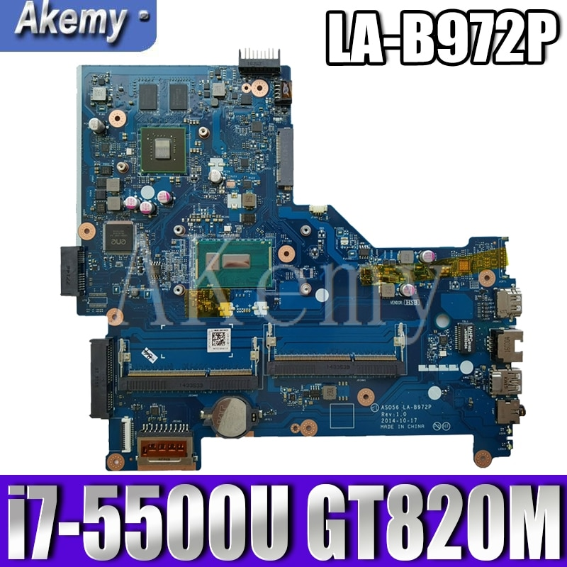 LA-B972P اللوحة الأم ل For HP 15-R LA-B972P اللوحة المحمول 795814-001 795814-501 I7-5500U وحدة المعالجة المركزية الأصلي اختبار 100%