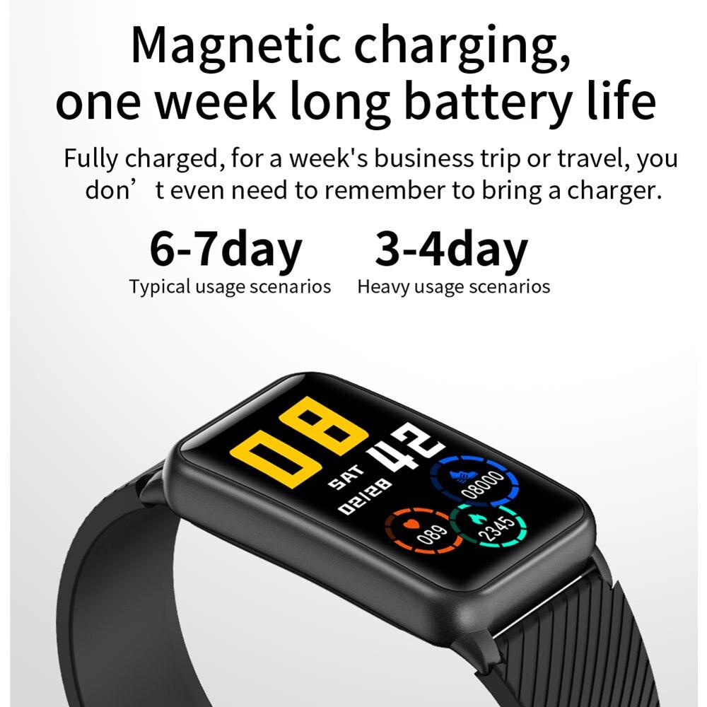 IWO PRO H96 Smartwatch Bluetooth Call Smart Watch Music Playback Men Women Heart Rate Blood OxygenTest Fitness Bracelet Man 2021