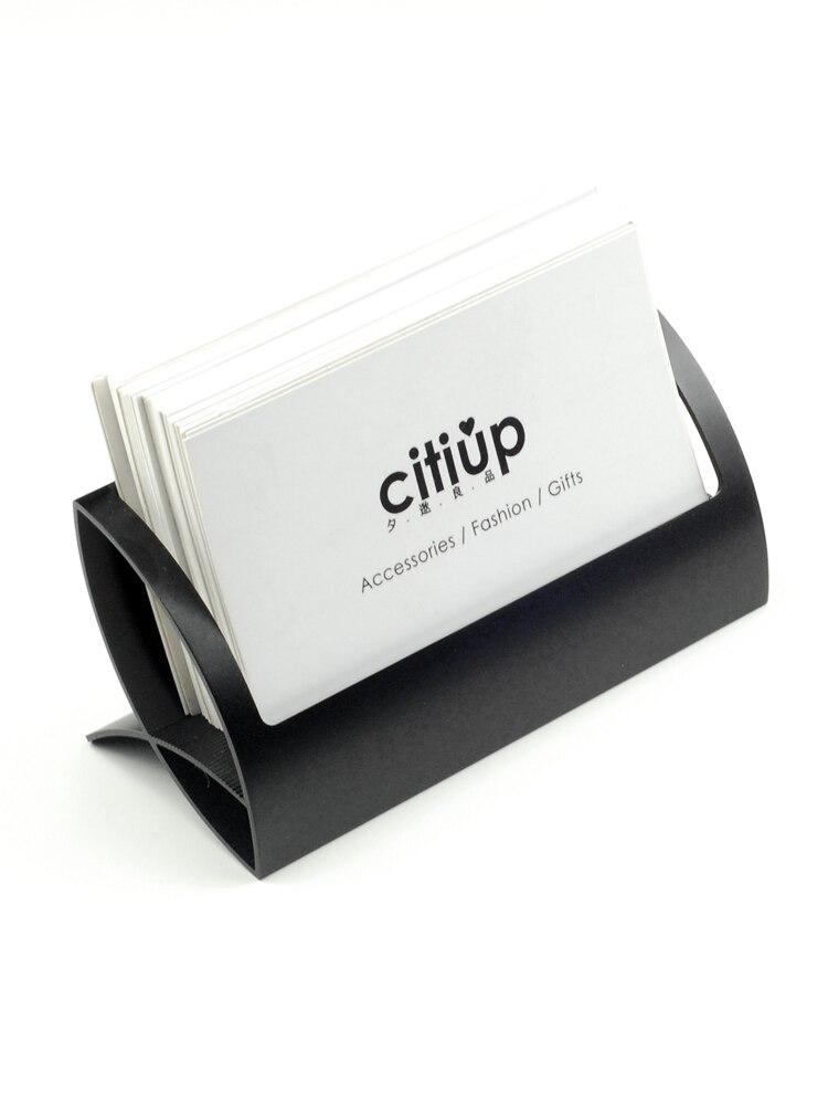Держатель для визитных карточек, металлическая подставка для визиток, деловой держатель для визиток, офисные аксессуары