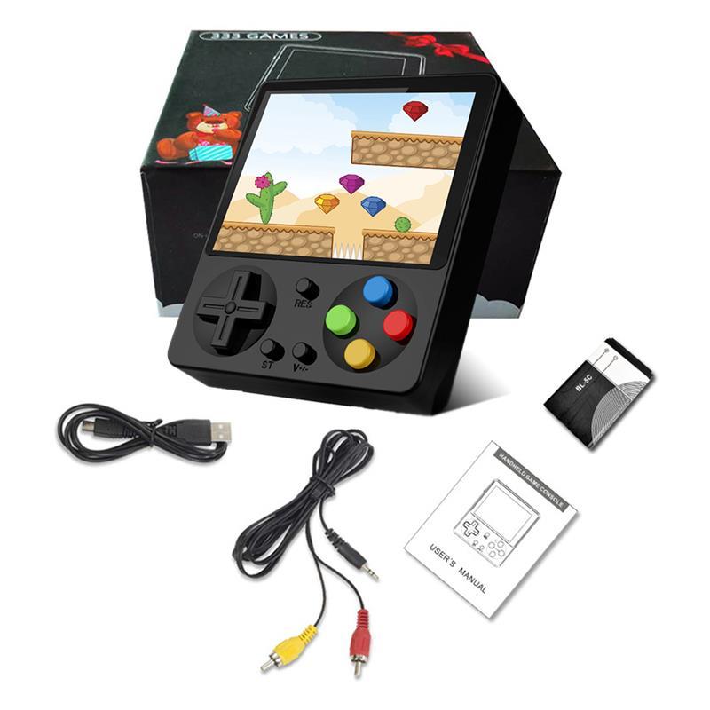 JP02-Mini consola De juegos portátil para niños, máquina De juegos Retro con...