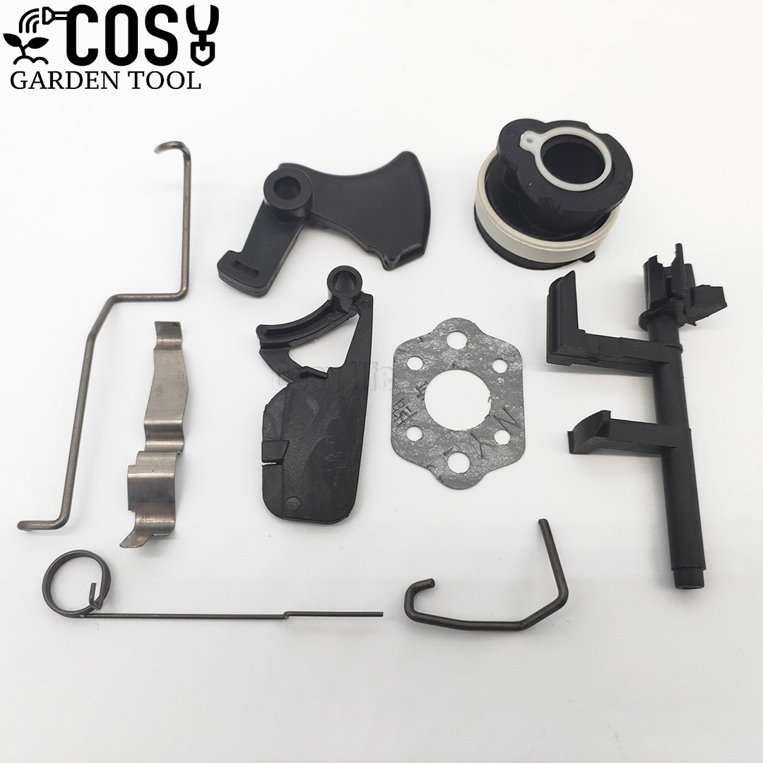Intake Tube Throttle Trigger Choke Rod Switch Shaft Kit For STIHL MS180 MS170 018 017 MS 180 Chainsaw Replacement Accessories throttle choke rod intake manifold air filter breather kit fit husqvarna ms180 ms180c ms170 018 017 chain saw parts
