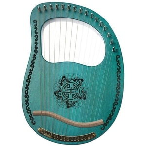 Harp Lyre,Mahogany 16 String Harp,with Tone Wrench,Suitable for Music Lovers, Beginners, Children and Adults,Etc