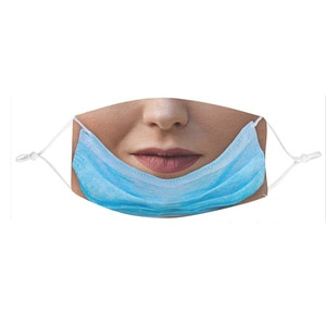Funny 3d Designer Mask Unisex Adult Fabric Waterproof Mask Women Mouth Cover Facemask Mascaras Cubrebocas Halloween Cosplay