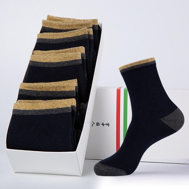 5 pares De Calcetines peludos De algodón peinado para hombres Calcetines clásicos...