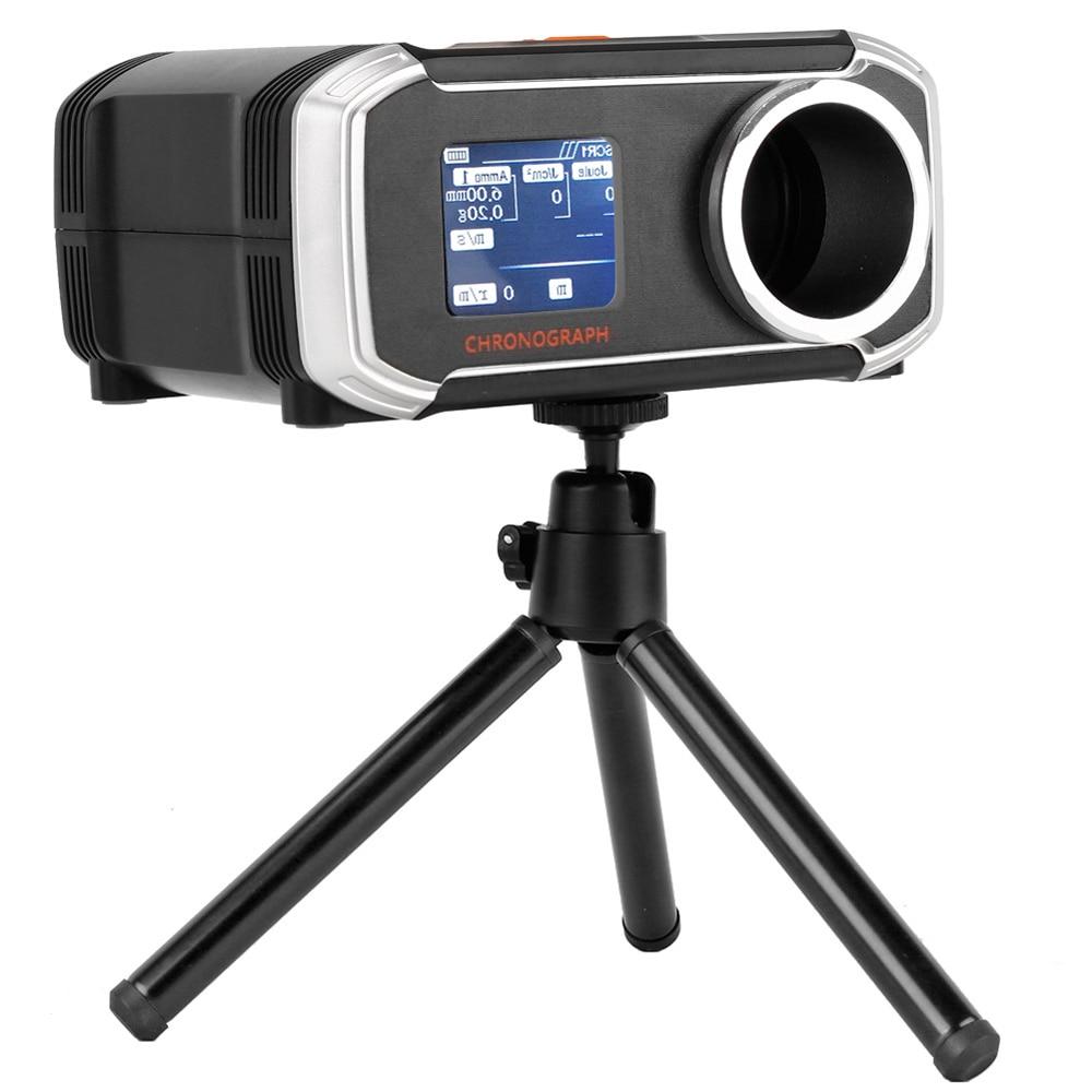 جهاز قياس سرعة إطلاق الرصاص متعدد الوظائف عالي الدقة مقياس قياس سرعة إطلاق الرصاص كرونو بياني