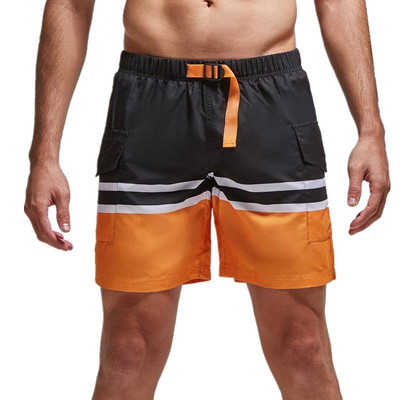 summer men swimwear shorts Bermuda beachshorts swimsuit Men Runing sport men surf swim briefs bathing suit fitness sweatpants