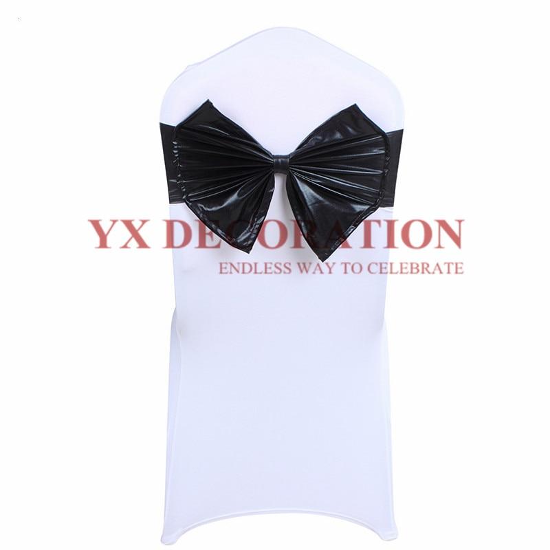 شريط ليكرا معدني فاخر ، ربطة عنق ، لمأدبة الفندق ، حفل الزفاف ، الديكور ، 30 قطعة.