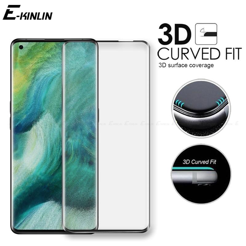 3D Curved Film Full Cover Tempered Glass Screen Protector For OPPO Find X2 X3 Neo Lite Reno5 Reno3 Reno4 Reno 5 4 3 Pro 5G