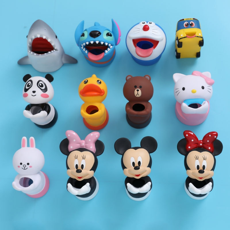 disney Minnie kids water tap Faucet Extender Water Saving Cartoon silicone Faucet Extension Tool Help Children Washing hand