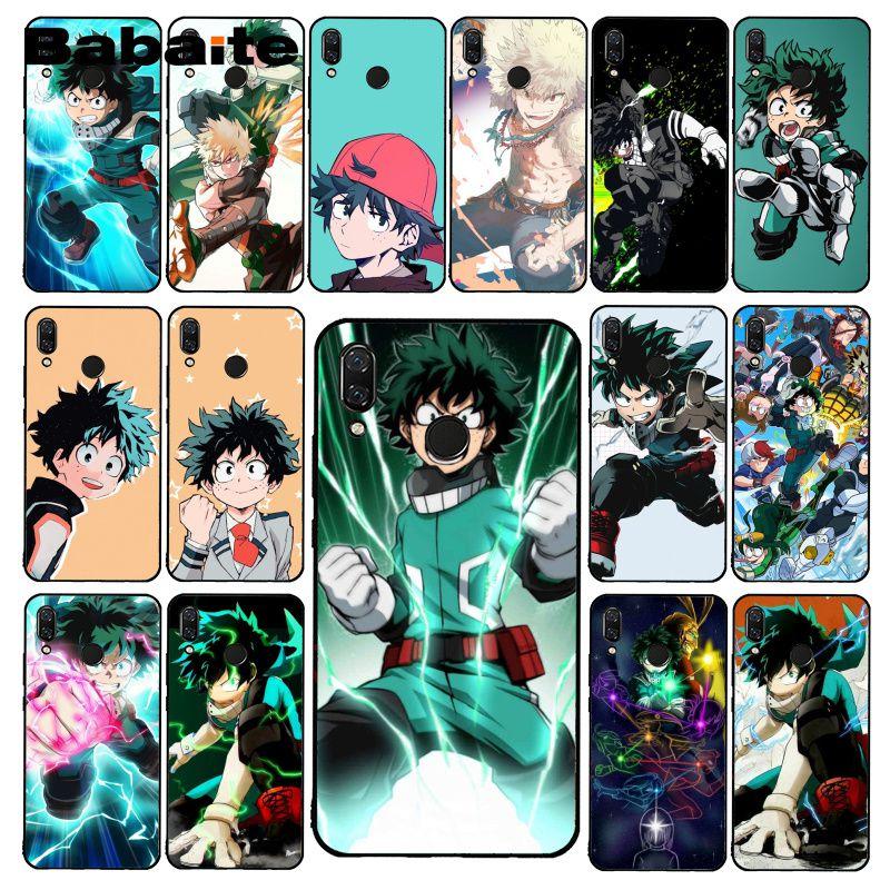 Babaite Anime My Hero Boku no Hero Academia deku bakugou PhoneCase for Xiaomi Redmi8 4X 6A 7A 9 Redmi note4 4X 8T 5Plus 8Pro