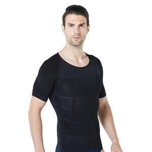 Factory Outlet Men's Body Shaper Short Sleeve Corset Corset Body Shaper 008