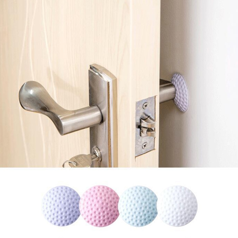 4PCS/Lot Door Stopper Doorknob Lock Protective Pad Crash Pad Wall Shockproof Crash Pad Anti-Collision Angle Protection Cover