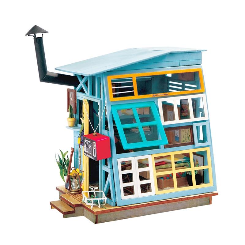 Robotime DIY juguetes de madera en miniatura para niños DGM02/03
