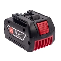new replacement bosch18v 8ah wireless power tool bat609 bat610 bat618 bat619g rechargeable lithium ion battery with 3a charger