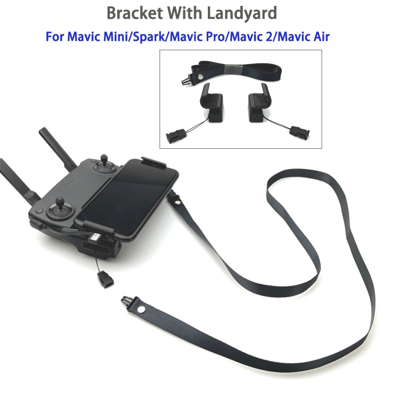 Mavic-Soporte de Clip para teléfono, accesorio Mavic Pro con cordón de control...