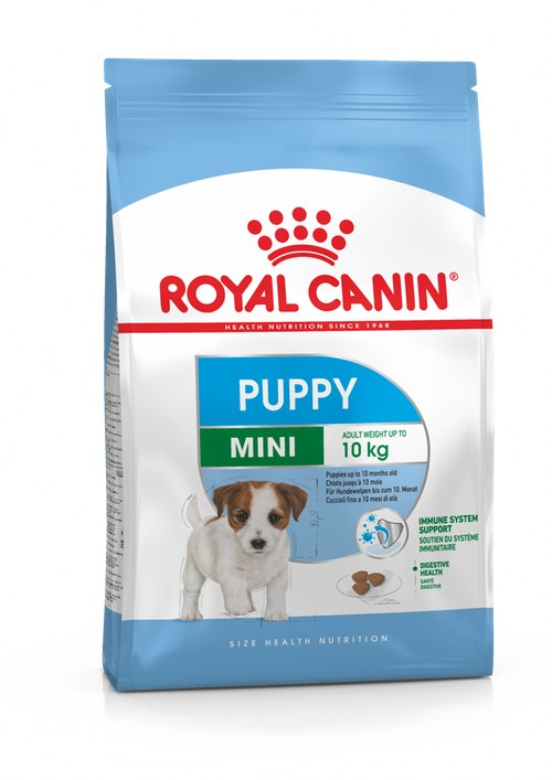 Royal canin filhote de cachorro mini seco. D/filhotes de raças pequenas 4 kg
