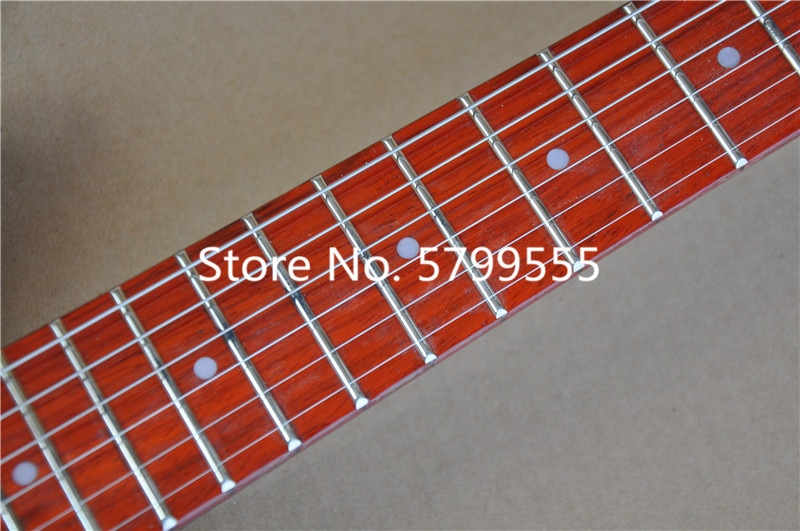 Heritage classic high quality electric guitar, black rick 325 electric guitar, jazz rocker can be customized, free delivery enlarge