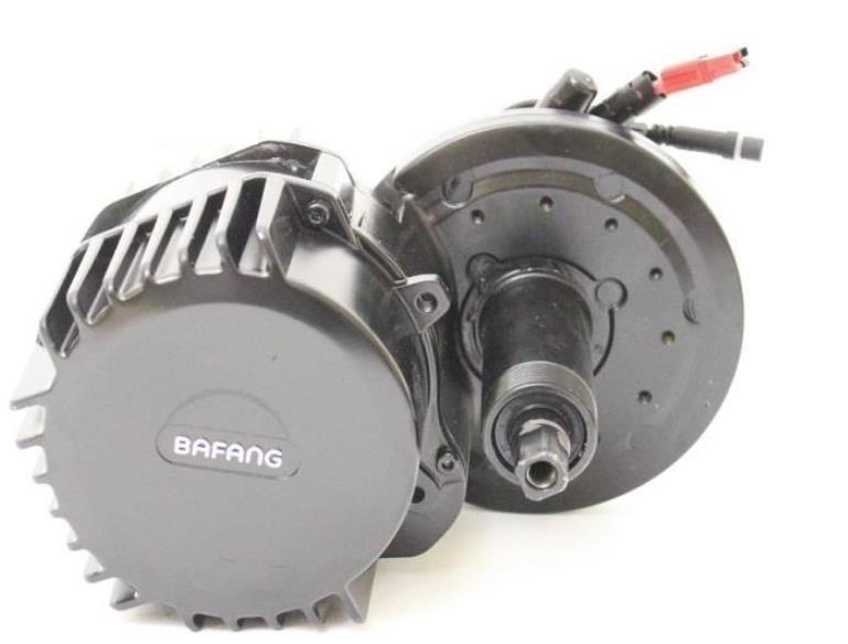 Bafang-مجموعة محركات الدراجات الكهربائية BBSHD ، 48 فولت ، 1000 واط ، محرك مركزي في الحامل السفلي ، مع شاشة ملونة