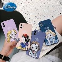 disney princess phone case for iphone 6s78pxxrxsxsmax1112pro12mini schneewittchen belle phone case cover