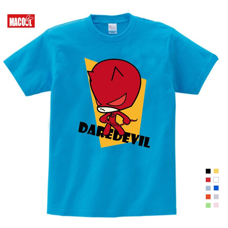 Kids Comic Super Hero Boy T Shirt Superman Batman Captain America The Flash Movie Men Cosplay Boys Summer Clothes T-Shirt 3T-9T
