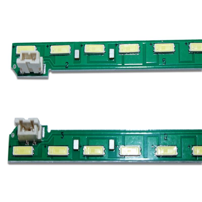 Novo conjunto de 15 30 PCS 46LED = 537 milímetros tira conduzida luz de fundo 49 Polegada FHD R L tipo G1GAN01-0791A G1GAN01-0792A para LG 49LF5400 MAK63267
