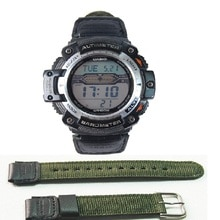 Correa de reloj para casio SGW-300H, correa de MRW-200H para AE-1000W AE-1300, AE-1200, W-S200H, W-800H, W-216H, W-735H F-108WH, 400H W-215 AEQ-110W