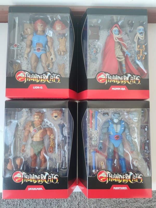 Original Super7 Super Hero Thundercats One:12 Lion-O PVC Action Figure Toy Doll Gift
