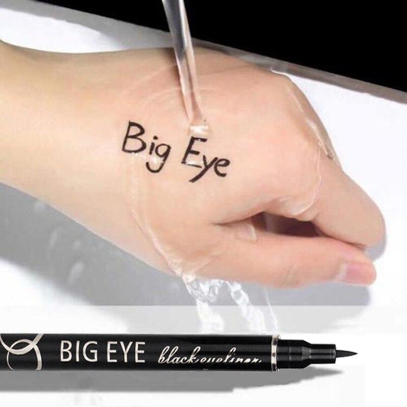 Waterproof Makeup Eyeliner Pencil Sharpen Cool Liquid Eye Liner Eyes Professional Eyeliners Pen Big