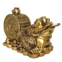 LAOJUNLU-ornement de crapaud en cuivre pur, produit des Profits de tous les côtés