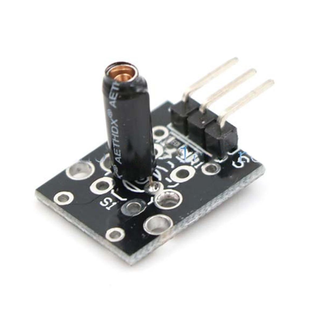 3pin KY-002 SW-18015P Shock Vibration Switch Sensor Module for arduino Diy Kit