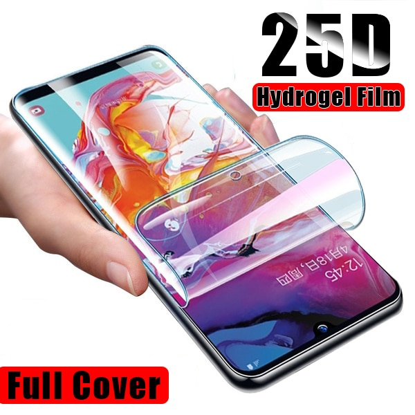 screen protector for samsung galaxy s10 plus s10e 360 full protection hd hydrogel 3 in 1 front film back film camera lens glass Hydrogel Film For Samsung Galaxy S9 S10 Plus screen protector For Samsung A6 A7 A8 A9 Plus 2018 S10E S10 Lite Soft Film