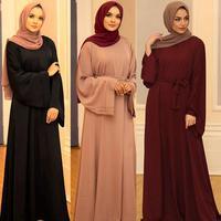 Ramadan Muslim Hijab Dress abayas for Women Abaya Dubai Turkey Islam Clothing Kaftan Robe Longue Femme Musulmane Vestidos Largos