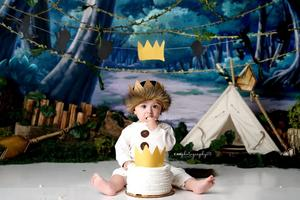 Mehofond Photography Background Camping Tent  Baby Shower Birthday Party Photocall Backdrop Photo Prop Photo Studio