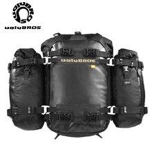 Moto queue sac moto siège arrière sac 10L20L30L étanche bagages sac à dos moto côté boîte sac R1200GS R1250