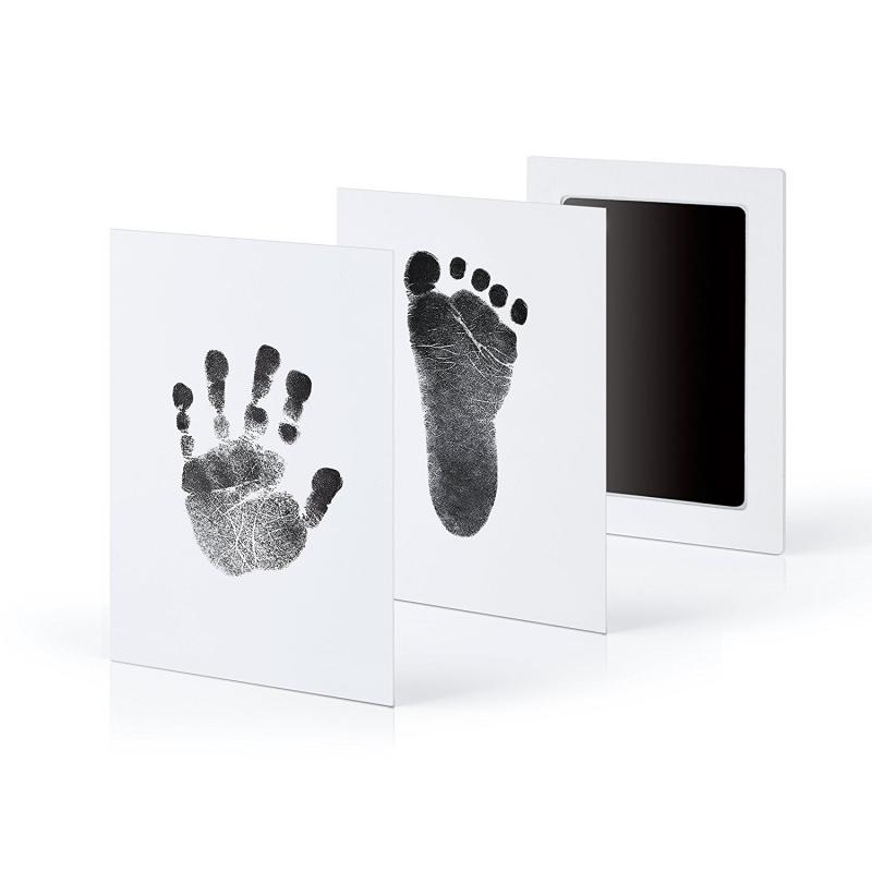 Non-toxic Baby Inkless Handprint Footprint Kit No Touch Skin Inkless Ink Pads Kits 0-6 Months Newborn Pet Paw Prints Souvenir