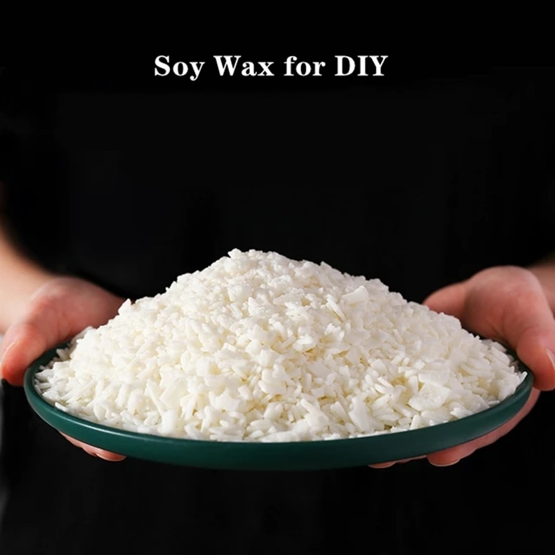 1000g High quality Pure Soy Wax Flakes Scented Candles Materials DIY Candle Making Supply Handmade Gift Waxing