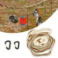 hanging rope camping accessories multi purpose adjustable anti slip clothesline clothes line awning for gardens garages sheds