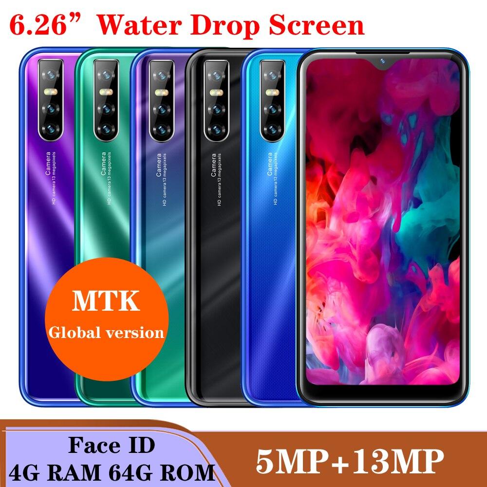 هاتف خلوي A71 ، رباعي النواة ، شاشة قطرة الماء 13 ميجابكسل ، 6.26 بوصة ، 4 جيجابايت رام ، 64 جيجابايت روم ، التعرف على الوجه ، فتح ، واي فاي ، أندرويد