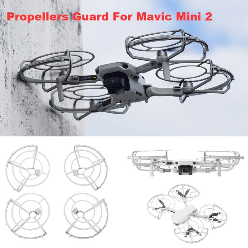 4 pçs hélices de liberação rápida guarda protable prop protetor capa para dji mavic mini 2 drone acessórios